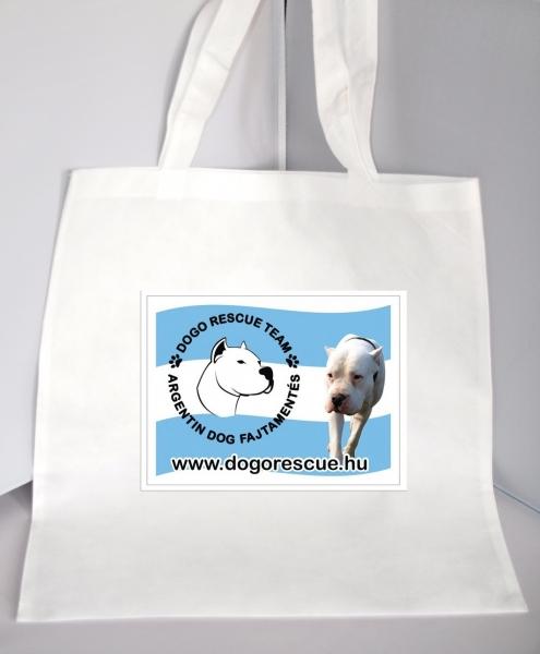 Bevásárló táska Argentindog Fajtamentés logóval