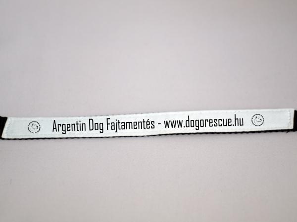 Nyakörv Argentindog Fajtamentéses támogatói termék