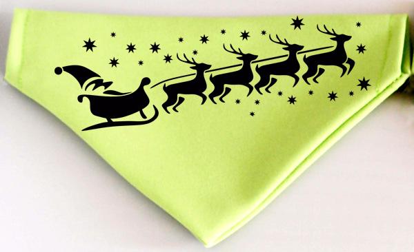 Karácsonyi mintázatú kutyakendő