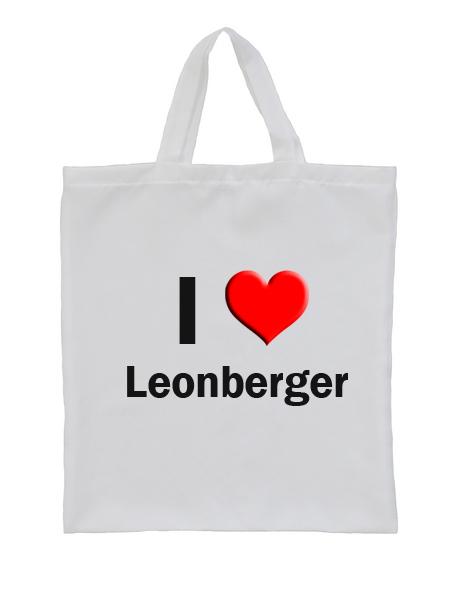 Leonbergi fényképes bevásárló szatyor