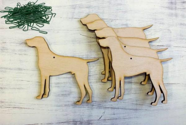 Vizslás fa karácsonyfadísz szett