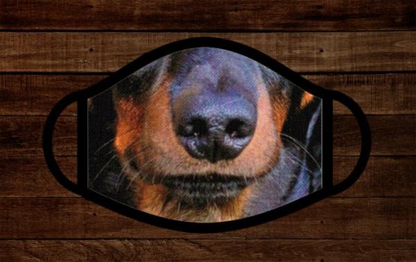 Tacskó orr fotós arcmaszk