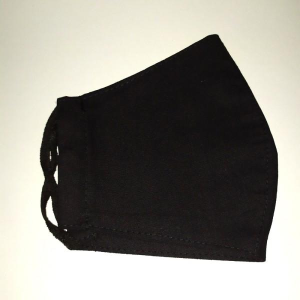 Bullterrier mintás fekete varott maszk