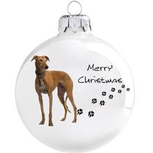 Agár mintás karácsonyi gömb szett