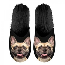 Francia bulldog fotós papucs
