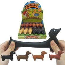 Tacskó alakú antistressz játék kutyabarátoknak