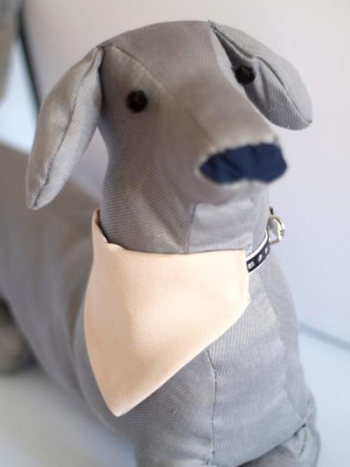 bézs kutyakendő