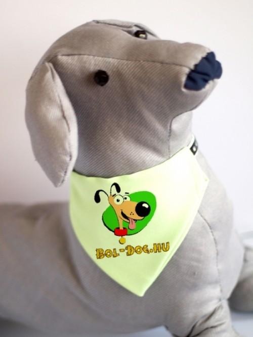 zöld kutyakendő