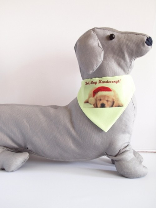 zöld kutyakendő karácsonyos