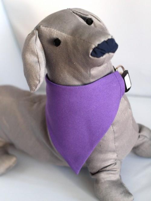 lila kutyakendő