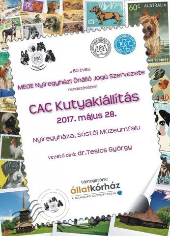 60 éves Jubileumi CAC Kutyakiállítás Nyíregyházán