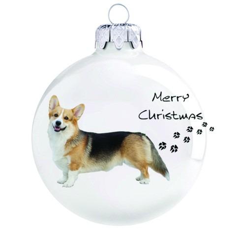 kutyás karácsonyi gömb
