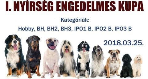 I. Nyírség Engedelmes Kupa - bol-dog.hu