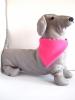 rózsaszín kendő kutyáknak, M