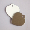 szív alakú biléta
