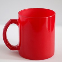 Varázsbögre - Mágikus piros bögre egyedi fényképpel