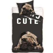 Mopsz kutya mintás ágyneműhuzat