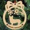Corgi mintás fa karácsonyfa dísz